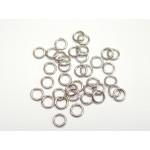 ocelové spojovací kroužky 5 mm - 20 ks