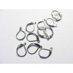 naušnicové zapínání, ocel 304 - 20 ks